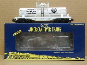 American Flyer 6-48239 TTOS 2005 Gilbert's Grade A Milk Tank Car S-Gauge C-7