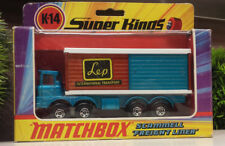 "Matchbox Super Kings K-14 Scammell ""Fright Liner"" LEP Int. Transp. OVP"