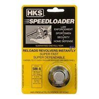 HKS 586-A Speed Loader .38 Special .357 Magnum Ruger S&W 6 Rounds