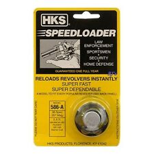 HKS Speed Loader 586-A .38 Special .357 Magnum Ruger S&W 6 Rounds