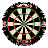 Winmau Diamond Plus Tournament Bristle Dartboard w/ Staple-Free Bullseye