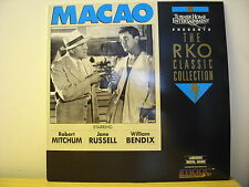 MACAO a RKO Classic Collection Laser Disc