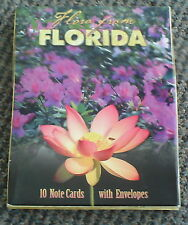 FLORDIA FLORA BLANK NOTE CARDS 10 DIFFERENT CARDS