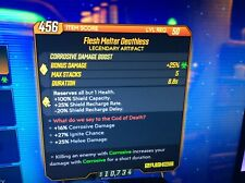 Borderlands 3 Special Mods - Flesh Melter Deathless Lvl 50 - XBOX ONE ONLY