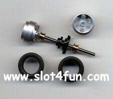 ** TOP **   Hinterachse Tuning Kit 1 für Carrera 1:32 - Alufelgen-Reifen Ø20,0mm
