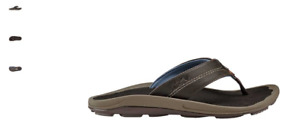 Olukai Kipi Espresso Comfort Flip Flop Sandal Men's US sizes 7-15 NIB!!!