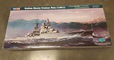 Hobby Boss 86502 1/350 WWII Italian Heavy Cruiser Pola (1941) ships from USA