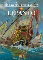 Die großen Seeschlachten 3 - Lepanto - Comic - deutsch - NEUWARE