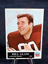 1965 Philadelphia Football Bill Glass #33