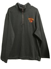 Champion elite Men New Size Xxl Beavers Logo Sweatshirt charcoal 1/4 zip(#i6