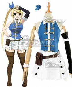Fairy Tail Lucy Heartfilia Anime New Cosplay Costume