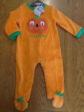 BNWT baby girl / boy pumpkin Halloween fancy dress up outfit. warm. 6 -9 mths.
