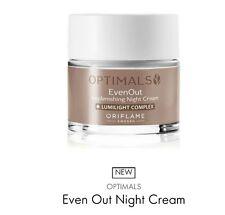 Optimals Even Out (reduces dark spots) night cream,  50ml New
