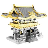 Fascinations Metal Earth Yomeimon Gate Laser Cut 3D Metal Model Kit