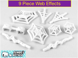 LEGO Spider Man Minifigure Weapon Pack Spider-Man Web Effects 9 in Bag White NEW