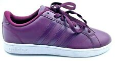 Adidas Womens Baseline Shoes Purple Low Top Lace Up Round Toe AW5420 7.5 New