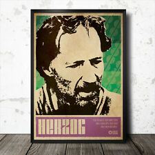 Werner Herzog Art Poster Film Cinema Movie Tarkovsky Godard Truffaut Kinski