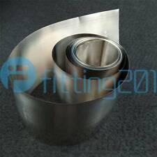 Pure Nickel Ni Metal Foil Thin Sheet 99.96% 0.05mm x 100mm x 1000mm