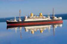 NEW ZEALAND LINE SS RANGITATA BASSETT LOWKE STYLE QUALITY WATERLINE MODEL SHIP