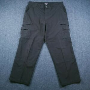 Tru-Spec Tactical Men's Pants Tag-36X32 Act-37X28 Brown RipStop Police & Fire