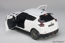 Autoart 2016 NISSAN JUKE R 2.0 MATT WHITE COMPOSITE in 1/18 Scale New In Stock!