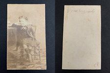 Le prince Louis-Napoléon CDV vintage albumen print.Napoléon Eugène Louis Jean