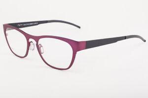 Orgreen LENNOX 445 Matte Raspberry Red / Matte Black Titanium Eyeglasses 51mm