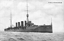 POSTKARTE SCHIFFE HMS NEWCASTLE