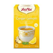 💚 Yogi Tea Organic Ginger Lemon Herbal Tea 17bag