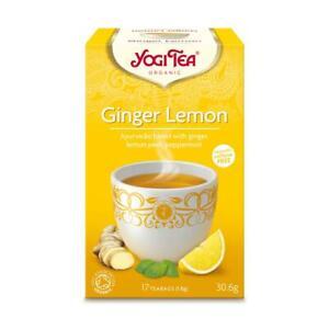 💚 Yogi Tea Organic Ginger Lemon Herbal Tea 17bag