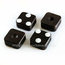 Yamamoto Sound Craft PB-18 ebony wooden spike base with ceramic spacer.