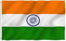 3X5 INDIA FLAG INDIAN COUNTRY FLAGS NEW BANNER Nylon Polyester