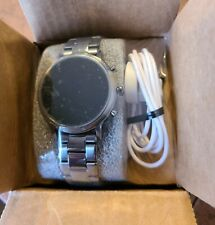Fossil Gen 5 Carlyle HR Smoke Stainless Steel 44mm Smartwatch - FTW4024