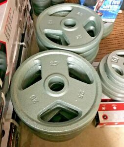 """Weider and CAP Olympic 2"""" Weight Plates 💥CHOOSE SIZE💥 25 10 5 NEW - SHIPS FREE"""
