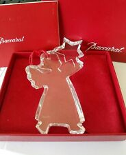 NEW in Box BACCARAT Crystal ORNAMENT - NO DATE - (1996) RARE!