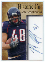 Rob Gronkowski RC Rookie Card College Historic Cuts Only /1000 Made