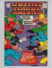 Justice League of America 56 1st GA Wonder Woman in SA!  JSA Hi-Grade 1967 VF-