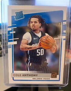 2020-21 NBA Panini Donruss COLE ANTHONY rated Rookie RC #208 Orlando Magic