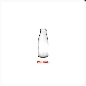 20 X 250ML.CLEAR  GLASS JUICE /DRESSING BOTTLE & 38MM TWIST OFF LID