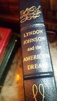 LYNDON JOHNSON & AMERICAN DREAM Kearns Easton Press Leather Lib of Presidents