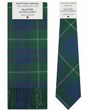 MacIntyre Hunting Ancient Tartan Lambswool Schal & Krawatte Geschenkset