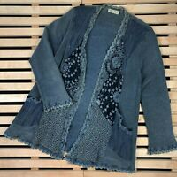 Womens Cardigan Sweater Ann Balon Vintage Size 12