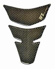 REAL CARBON FIBER GAS FUEL OIL TANK PAD PROTECTOR STICKER MOTORCYCLE TRIM fit