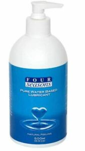 Four Seasons Personal Lubricant Pump (500ml) - Lube/Toys/Safe/Natural/Play 🐙
