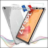 Coque Silicone TPU + Film Verre Trempé case Samsung Galaxy Tab A7 10.4 (2020)