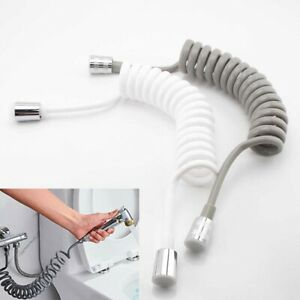 1.5/2M Spring Flexible Shower Hose Tube For Water Plumbing Toilet Bidet Sprayer