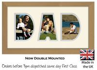 Dad Photo Frame Word Frame Birthday Picture Gift Photos in a Word