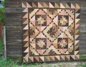 Pinny & Pa - traditional/primitive style pieced quilt PATTERN