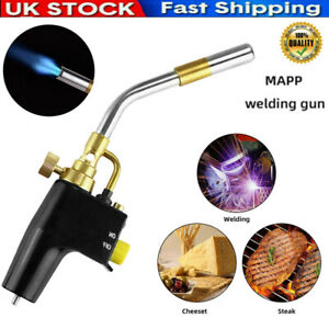 Professional Propane Mapp Blow Torch Welding Soldering Brazing Gas Plumbing UK