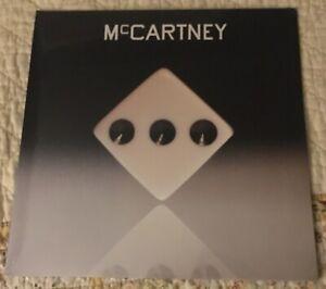 """Paul McCartney """"McCartney III"""" Yellow Vinyl LP Gatefold Cover"""